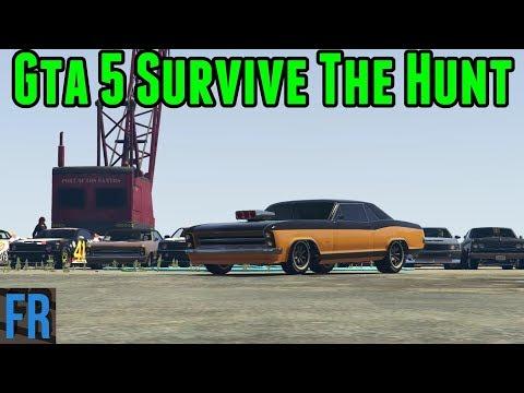 Gta 5 Survive The Hunt - Incognito Blista