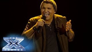 """Video Carlos Guevara Doesn't Have To """"Worry"""" On Stage! - THE X FACTOR USA 2013 download MP3, 3GP, MP4, WEBM, AVI, FLV Juli 2018"""