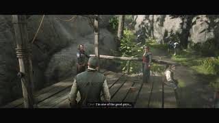 Red Dead Redemption 2   Cleet Hang vs Spare Micah s Friend