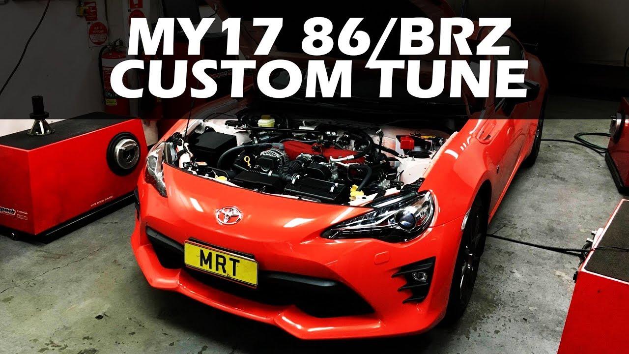 My17 Toyota 86 Subaru Brz Custom Tune Results Youtube