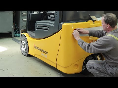 In Fast Motion: Refurbishment Of Used Fork Lift Trucks By Jungheinrich