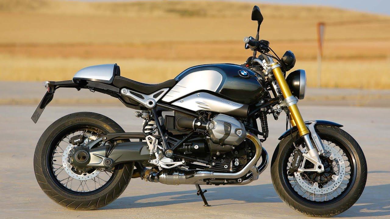 All New Bmw R Ninet Bike Driving Details Hd Youtube