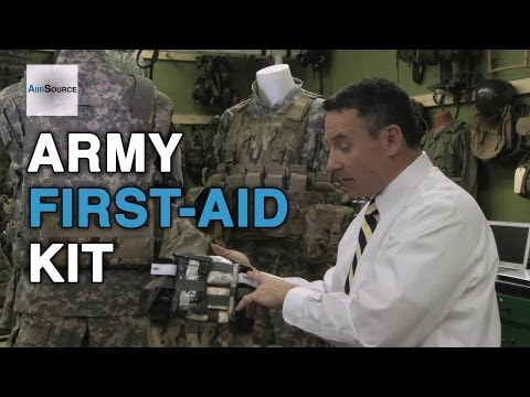 U.S. Army Improved First-Aid Kit (IFAK)