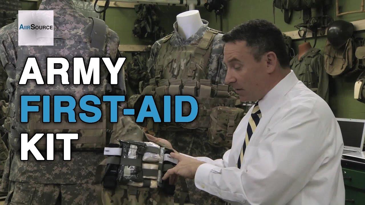 U S  Army Improved First-Aid Kit (IFAK)