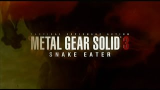 Metal Gear Solid 3 - The Movie [HD] Полный фильм