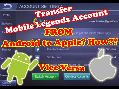 Explicit Guide: Switching Mobile Legends Account From Android To Apple