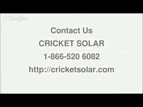 How Much Do Solar Panels Cost - 866 520 6082-Cricket Solar Toronto,ON
