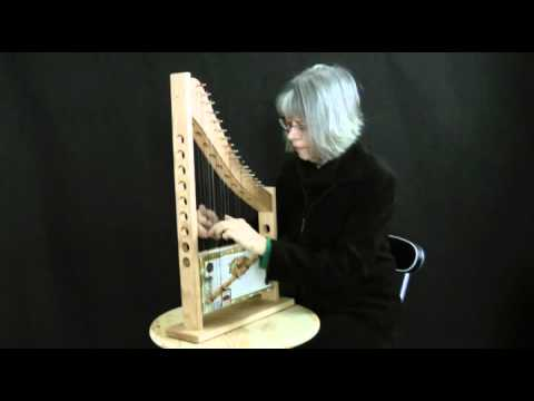 Beautiful Cigar Box Harp   YouTube