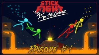 I ALMOST PISSED MYSELF!!! | Stick Fight The Game #1