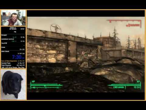 Fallout 3 All Quests Speedrun In 1:34:09