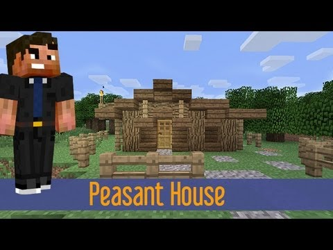 Minecraft - Small Rustic House Tutorial Easy Fast Quick - YouTube