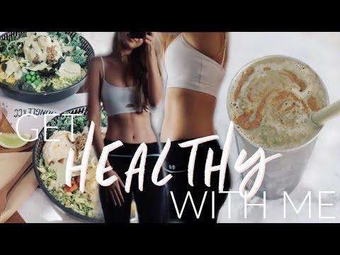 Time For A HEALTH KICK   Honest Body Update + Healthy Food!