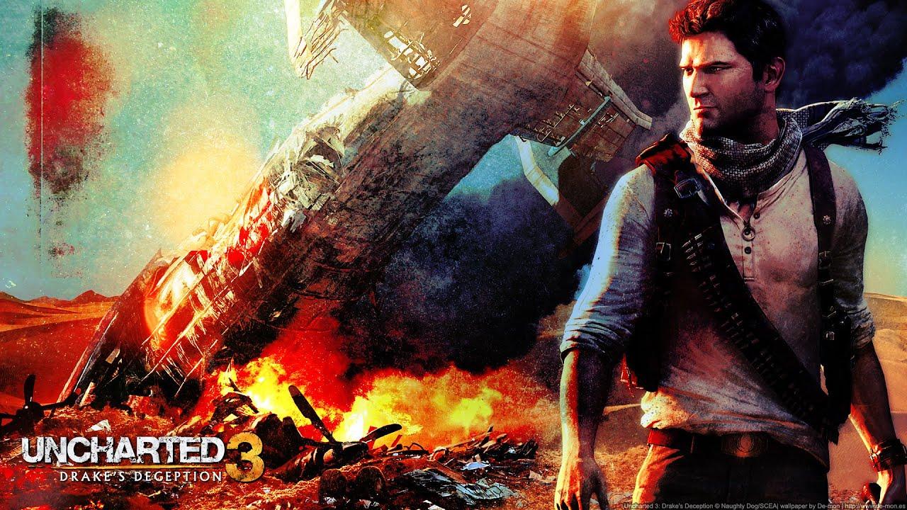 Uncharted 3 La Traición De Drake Pelicula Cinematicas Ps4