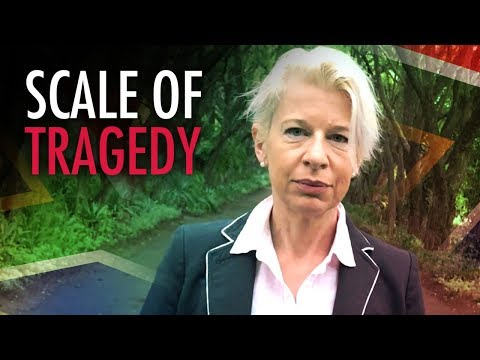 """Katie Hopkins in South Africa: """"A cross for every white farmer killed"""""""