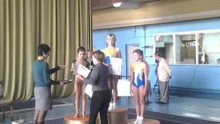 Награждение ( акробатическая дорожка) Днепродзержинск 2013