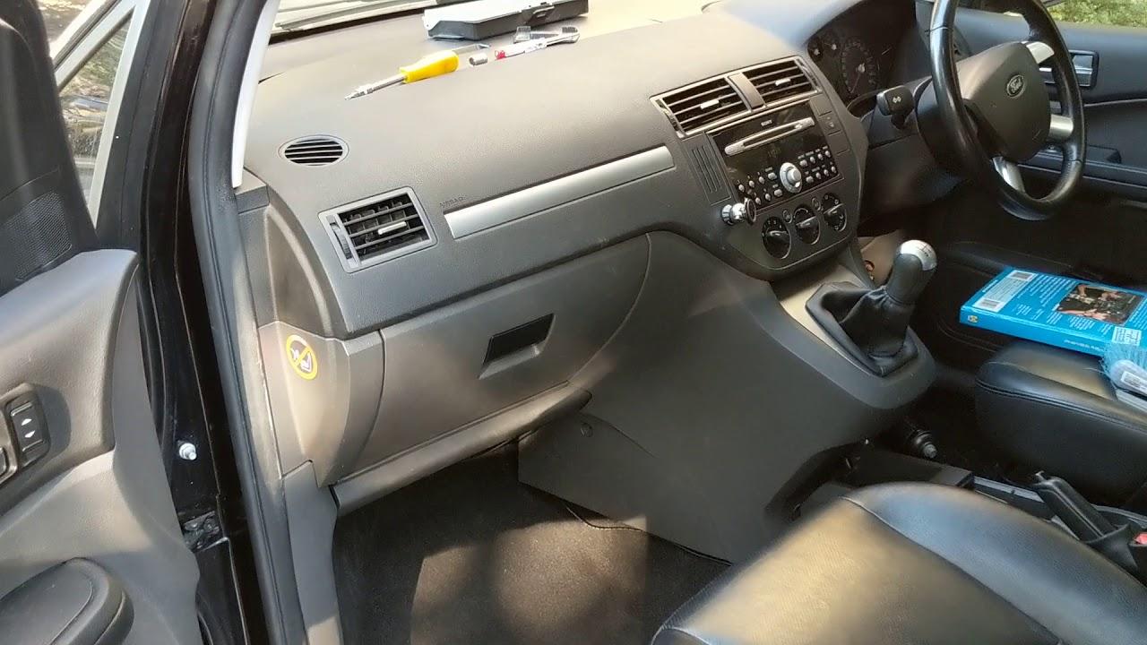 2004 Ford focus c max MK1 passenger fuse box location