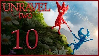Unravel 2 - Кооператив - Be quick or be dead - Испытание 5 [#10] | PC
