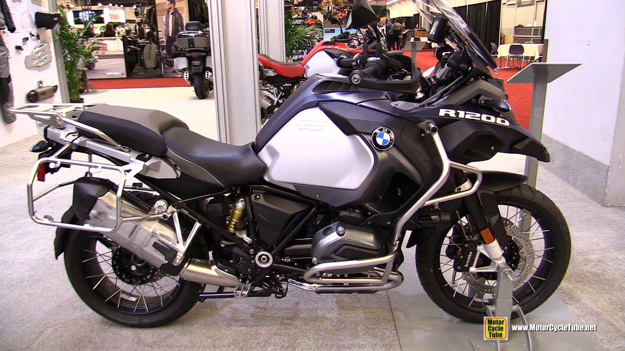2016 Bmw R1200gs Adventure Walkarond Montreal Motorcycle Show