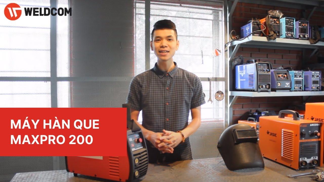 Máy hàn que siêu thích ứng điện Weldcom MaxPro 200