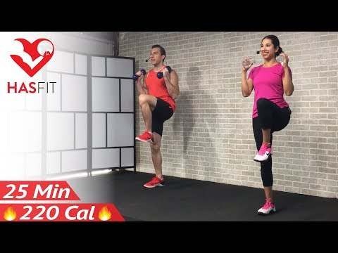 Download Youtube: Low Impact Cardio Workout for Beginners - 25 Minute Beginner Workout Routine at Home for Women Men