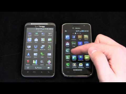 HTC ThunderBolt vs. Samsung Galaxy S 4G Part 1