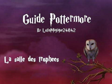Guide Pottermore // La salle des trophées...