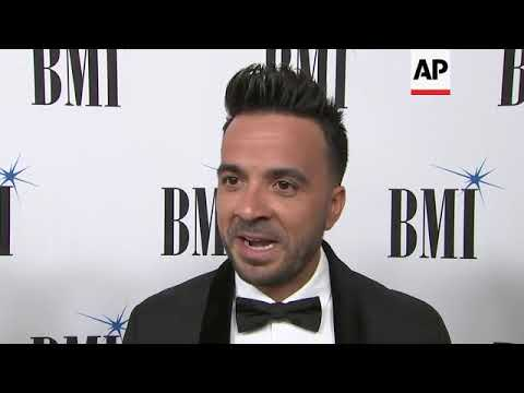 'Despacito' hitmaker Luis Fonsi and rapper Residente are honored at the BMI Latin Music Awards