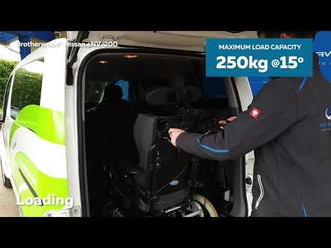 Brotherwood® Nissan ENV-200 'Envy' WAV - Loading And Unloading Instructions