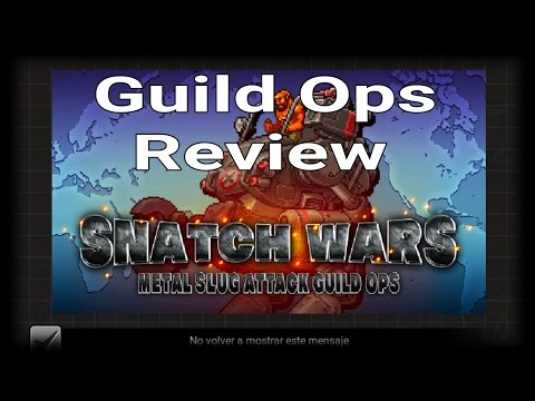 MSA - Snatch Wars - Guild Ops Review