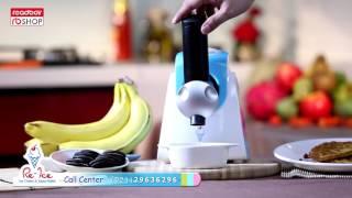 RE - ICE ice cream & salad maker
