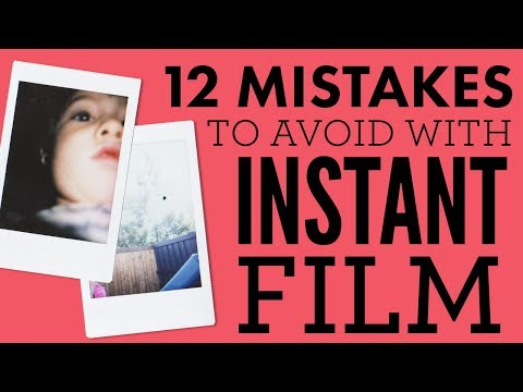 12 Mistakes to Avoid with Instant Photography