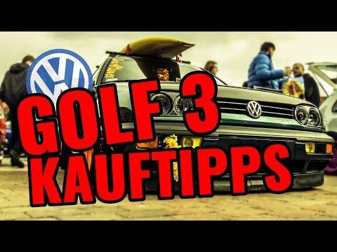 VW GOLF 3 KAUFBERATUNG / MÄNGEL & VORTEILE / BARSTUNINGTV