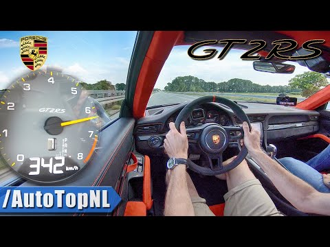PORSCHE 911 GT2 RS 700HP AUTOBAHN 342km/h ONBOARD by AutoTopNL