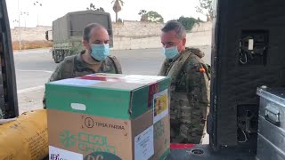 Las primeras dosis de la vacuna llegan a Ceuta