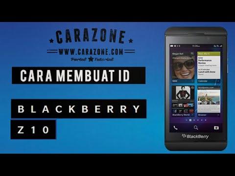Cara Membuat ID BlackBerry Q10