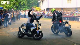 BMW Stunt Show by DFG at NIT Calicut [Extended Version]