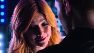 clary and jace s first kiss scene hd shadowhunters 1x07