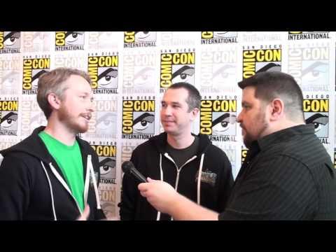 Zeb Wells & Matthew Senreich interview for SUPERMANSION at San Diego Comic-Con 2015