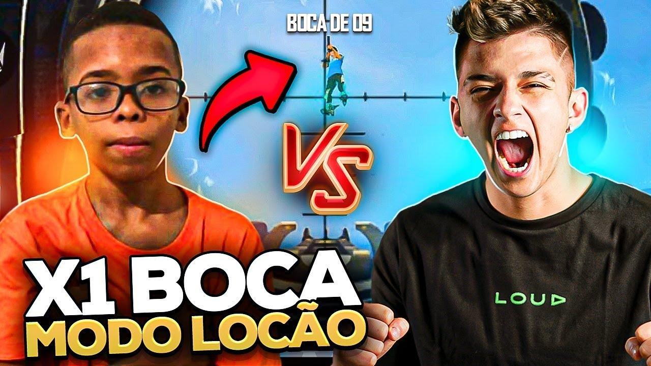 X1 BOCA09 MODO LOCAO! - Free Fire