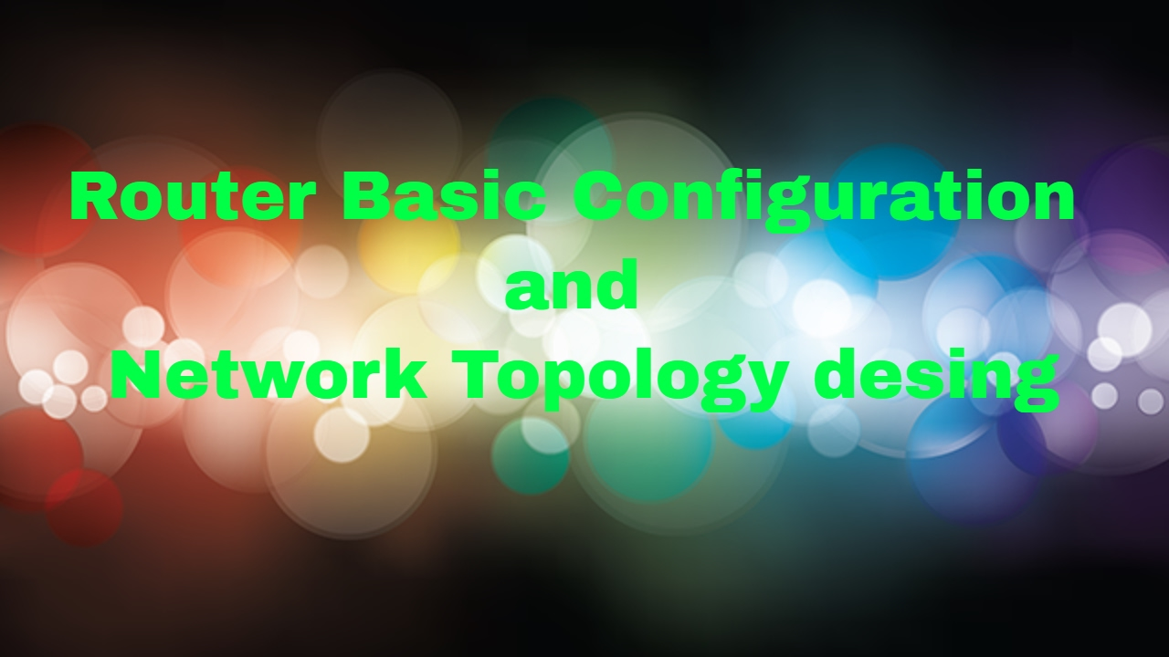 Cisco Router Basic Network Configuration (CCNA Lab 1-1)