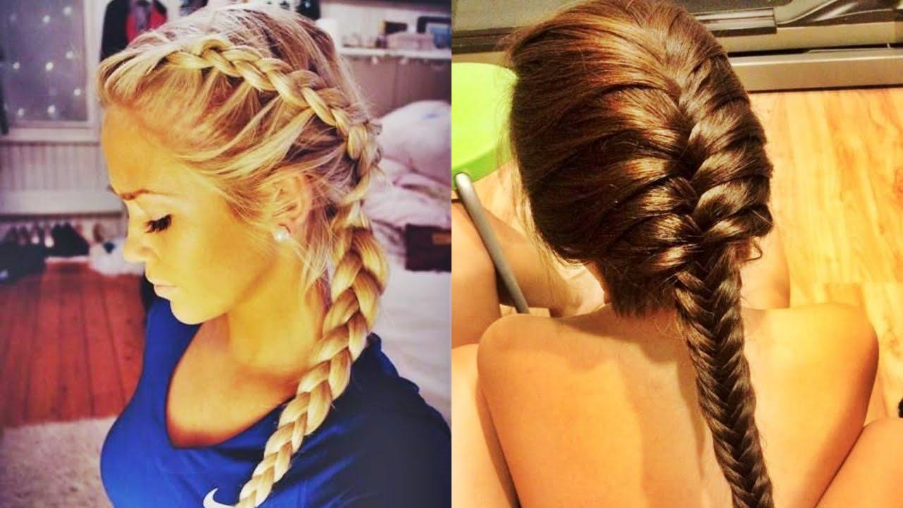 Incre bles trenzas de moda 2016 youtube - Fotos peinados de moda ...