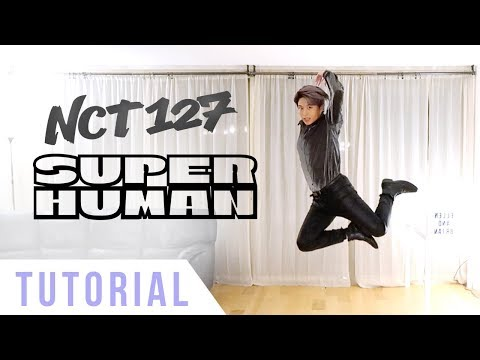 NCT 127 - 'Superhuman' Dance Tutorial (Explanation + Mirrored) | Ellen and Brian