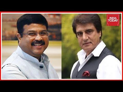 Gujarat Polls : Raj Babbar Vs Dharmendra Pradhan Face Off At Agenda Aaj Tak | Newsroom