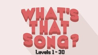 Roblox | What's That Song? Levels 1 - 30 Answers [ANSWERS IN DESCRIPTION]