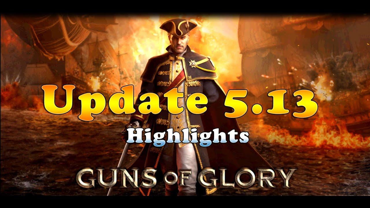 Guns of Glory: Update 5.13 Highlights
