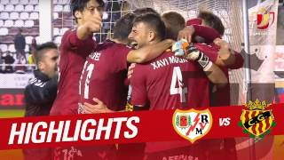 Resumen de Rayo Vallecano vs Nàstic (1-1)
