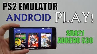 PS2 emulator test on OnePlus 3T/Snapdragon 821/Adreno 530(Play! Play station 2)PS2 games/Android