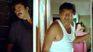 suswagatham scenes ganesh came for sandya at night time pawan kalyan devayani