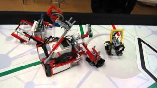 Ctrl-Z FLL World Class Robot Game in preparation for Provincials