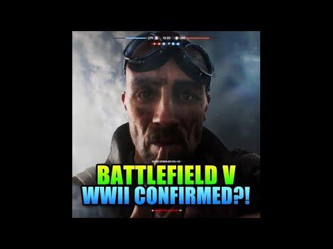 WW2 Confirmed As Setting For Battlefield V!? - New Teaser Trailer